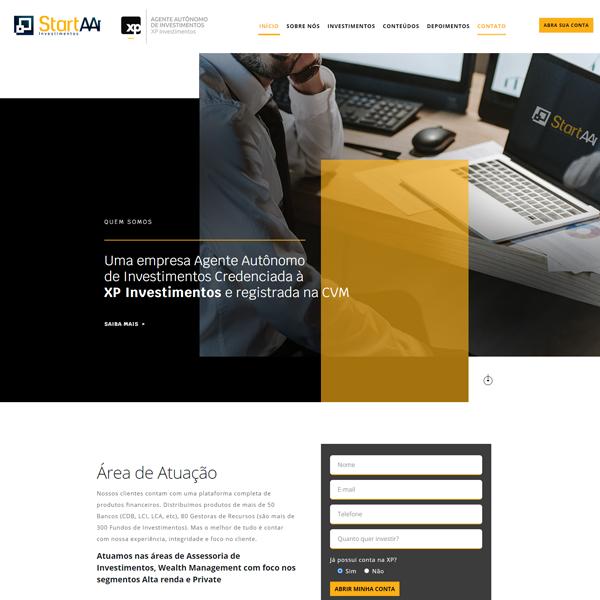 StartAAI - Criação de Site